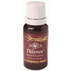 Thieves Essential Oil by Young Living Essential Oils - 15 ml.  To support the immune system.
