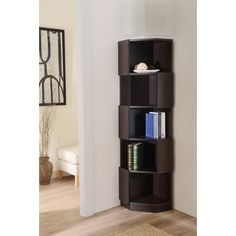 Furniture of America Austin Contoured Bookcase/ Display Stand