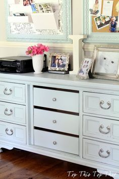 Top This Top That: How I took the Bachelor out of the dresser..Furniture Makeover