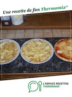 Awesome pizza dough by A fan recipe to find in the category Pies and pies salted, pizzas on www.espace-recett …, from Thermomix®. Dough Recipe, Pizza Recipes, Cake Recipes, French Pizza, Drink Recipe Book, Thermomix Desserts, Pizza Dough, Food Videos, Books