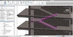 Revit 2014 Architectural Stairs to Structural Stairs  #stairs Pinned by www.modlar.com