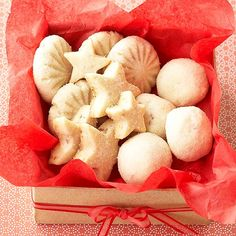 Lemon-Pecan Shortbread Cookies                                  Las 36 mejores recetas de galletas para Navidad