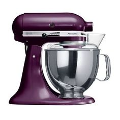 DREAM! Purple Kitchen Aid. I dont even care if it wouldn't match anything else in the kitchen, its special!