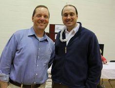 Steve Roach (Nashoba Valley Medical Center CEO) and Senator Jamie Eldridge (Taste of Nashoba 03/19/13)