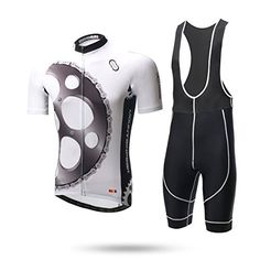 2016 Bicycle Teams Xintow Mens CyclingJerseyShortSleeveBicicletaRidingSkinsuits Summer Cycle Racing Clothes Wears D923 Bib Shorts Set XL ** Click image for more details.Note:It is affiliate link to Amazon.