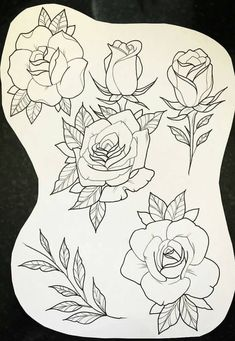 Roses #TattooIdeasDibujos #TattooIdeasHombre