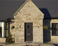 Traditional exterior belying a modern interior - Cygnum Timber Frame House Designs Ireland, Dormer House, Traditional Exterior, Cottage Style Homes, Modern Interior, Bungalow, Building A House, House Plans, Architecture