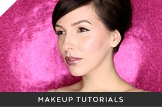 Makeup can be so intimidating -- especially when it feels like everyone is beat to the heavens and instagram-ready. You have plenty of time to learn (if you want, of course) about contouring, strobing, baking, yadda yadda. But before you dig in your heels and go for full glam, let's get back to the basics! I rounded up five great makeup tutorials for beginners to try, this week. Grab your everyday makeup bag and click to read more!
