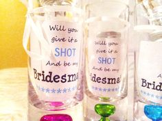 how to ask your bridesmaids. How perfect?! @Kirsten Wehrenberg-Klee Wehrenberg-Klee Green @Melissa Squires Squires Lindsay