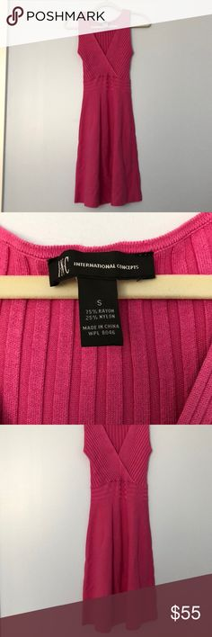 INC Sweater Dress Great condition. INC International Concepts Dresses