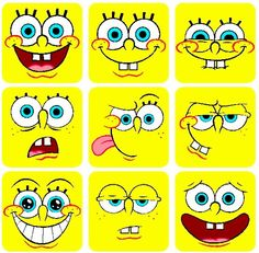 SpongeBob smile