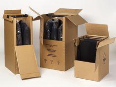Cajas Armario, para mudanzas, traslados, envíos a tienda, las prendas siempre llegan en perfecto estado