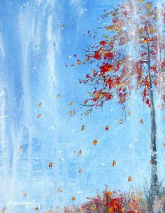 Autumn Tree by Kume Bryant http://fineartamerica.com/featured/3-autumn-tree-kume-bryant.html