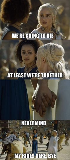 Khaleesi Only Cares About Herself
