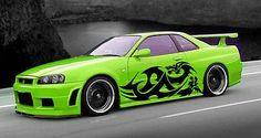 Japanese Dragon Tribal Tattoo Street Design Racing Drift Tuned Car vinyl tr039