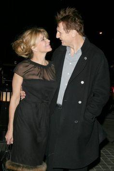 Natasha Richardson & Liam Neeson Joely Richardson, Natasha Richardson, Liam Neeson, Vanessa Redgrave, Dynamic Duos, Star Wars, Famous Couples, Glamour, Belle De Jour