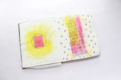 This site has a free printable journaling cards. Great for on the go if you don't want to carry your bulky art journal