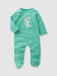 Pijama em algodão, para bebé