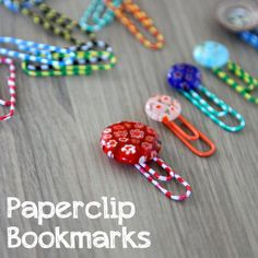 Paperclip Bookmarks | Spoonful