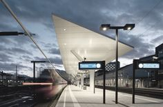 Central Station Salzburg / Kadawittfeld Architektur