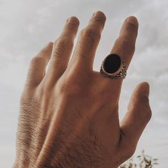 Have you checked our latest Onyx collection? Onyx Ring, Gemstone Rings, Rings For Men, Mens Fashion, Jewels, Gemstones, Collection, Ideas, Women