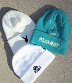 PacSun Exclusive! Stay cozy wherever you go in the new Playboy By PacSun Outline Beanie. This soft knit beanie has a bold color design with embroidered Playboy branding.