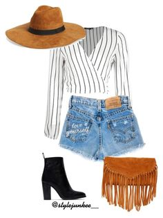 """""""Untitled #89"""" by plainejxne on Polyvore featuring Zara, Amici Accessories, SUSU, jeanshorts, denimshorts and cutoffs"""