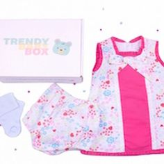 JULY'S BABY GIRLS OUTFIT ⠀ ⠀ Here's everything you will have received this month for your baby girl! We hope you are enjoying the look. don't for get to tag us for your chance to win a free box! Baby Girls, Little Girls, July Baby, 9 Month Olds, Baby Box, Complete Outfits, Trendy Baby, 3 Months, Frocks