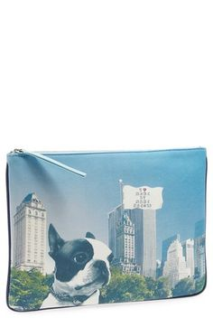 MARC BY MARC JACOBS 'Jet Set Pets' Clutch available at #Nordstrom