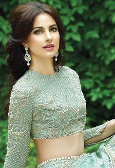 High Fashion Pakistan — Faraz Manan Bridals, F& 2015 Pakistani Couture, Pakistani Bridal Wear, Pakistani Dresses, Indian Dresses, Indian Outfits, Fashion Models, High Fashion, Artist Fashion, Fashion Pics