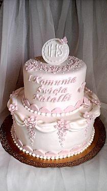 1st Communion cake for girl