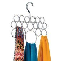 Scarf Hanger - easy to see all of them at once!  $9.99