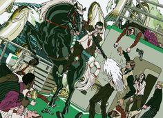Fishbones Attack   by AznMexTofu - Illustrations by Afu Chan  <3 <3