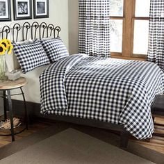 jcpenney.com | Classic Check Percale Duvet Cover Set