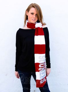Gameday Couture - W3O12 Sooners Glitter Color Block Scarf, Contact us at info@gamedaycouture.com (http://www.gameday-couture.com/w3o12-sooners-glitter-color-block-scarf/)