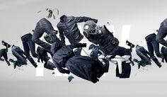 This site uses my favorite new technology - WebGL - allows a fluid 3D space experience as they showcase their new denim line. So amazing and want to use this in everything.