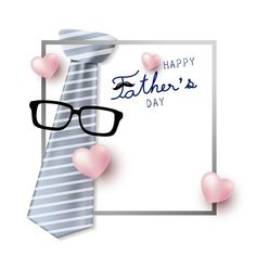 Happy fathers day concept design of necktie and vector image on VectorStock Happy Fathers Day Cards, Fathers Day Wishes, Happy Love, Happy Day, Profile Picture Images, Cake Wallpaper, Happy Friendship Day, Pastel Background, Dad Day