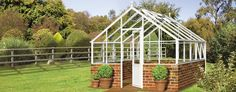 Love this traditional planthouse greenhouse from Hartley Botanic. For other gardening ideas visit www.theenglishgarden.co.uk