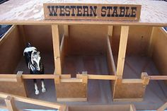 FAO Schwarz toy horse stable for Breyer vintage horses w Pen - DANG where is mine?!?