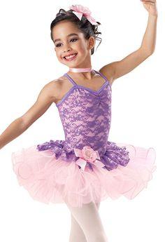 Glitter Lace Tutu Recital Dress -Weissman Costumes