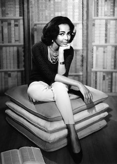 Trendsetter Dorothy Dandridge by Wallace Seawell, 1964 - #BlackFashion #DorothyDandridge