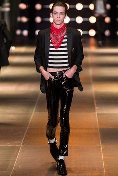 Saint Laurent Spring 2014 Menswear Fashion Show