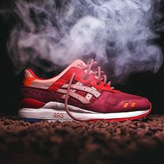 Ronnie Fieg's 'Volcano 2.0' GEL-Lyte IIIs are landing at @kith on April 21. #sneakerfreaker #snkrfrkr #asics #gellyteiii #gellyte #gl3 #ronniefieg via SNEAKER FREAKER MAGAZINE OFFICIAL INSTAGRAM - Fashion Advertising Culture Beauty Editorial Photography Magazine Covers Supermodels Runway Models