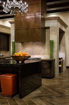 Spanish kitchen JAUREGUI Architecture Interiors