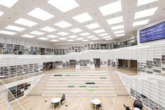 Imagen 1 de 39 de la galería de Biblioteca y mediateca Dalarna / ADEPT. Fotografía de Wilhelm Rejnus & Linus Flodin
