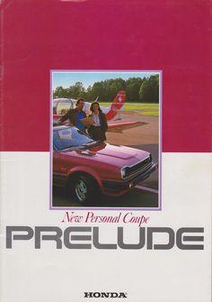 Honda Prelude Mk1 Brochure 1979