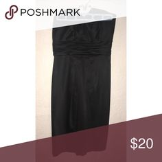 White House Black Market strapless dress Gently worn & beautiful dress! White House Black Market Dresses Mini