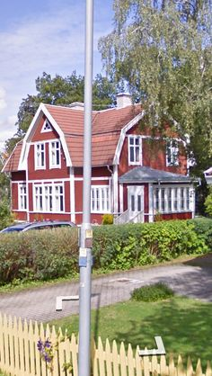 Utbyggnad Lady Shed Ideas, Future House, My House, Red Cottage, Swedish House, House Extensions, Scandinavian Style, Pavilion, Villa
