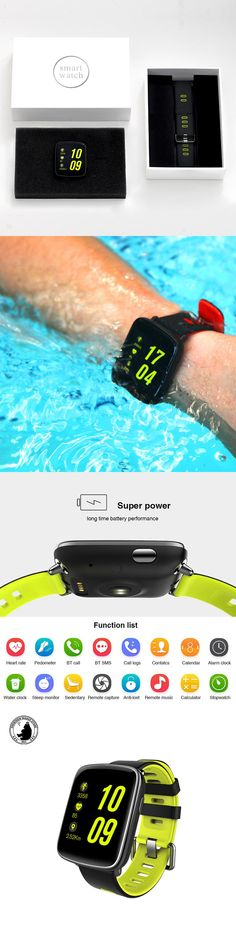 SWatch GV68 Smart Watch 2017 Bluetooth 4.0 Waterproof Ip68 Heart Rate Monitor Sport for IOS/Android phone wearable devices