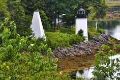 Maine Lighthouses and Beyond: Whitlock's Mill Lighthouse.  To enjoy my site on lighthouses, click on the above photo.
